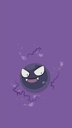 Gastly - Tap to see more Pokemon Go iPhone wallpaper! @mobile9