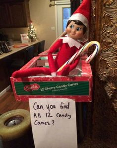 Elf on the shelf - Scavenger Hunt