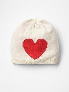 Gap Intarsia Heart Beanie Heart Sweater 36337cdb3228