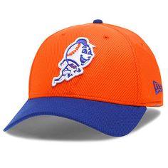 487a227cfc19b Men s New Era Orange New York Mets 2-Tone Reverse Diamond Era 39THIRTY Flex  Hat