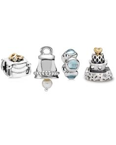 Pandora Wedded Bliss Charm Set $265.00 Available at: www.always-forever.com