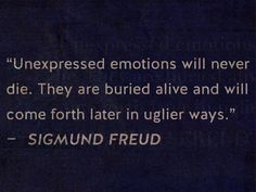 unexpressed emotions