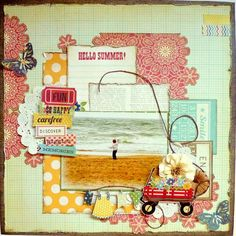 Layout: Hello Summer *My Creative Scrapbook*