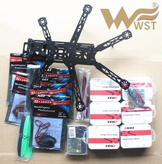 WST FPV Mini drones hexacopter DIY TH320 Fiberglass frame kit set with EMAX MT1806 2280kv+Simon K 12A ESC+cc3d Flight Control //Price: $141.55 & FREE Shipping //     #RChelicopter