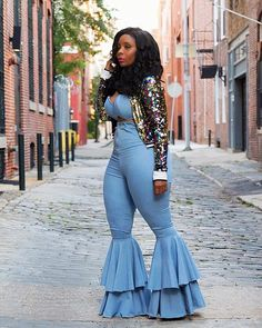 Female Fall Sexy 2 Piece Set Casual Women Solid Strapless Crop Top And Flare Pants Set Women Set Matching Set Suits For Women, Clothes For Women, Nice Clothes, Stylish Clothes, Cheap Clothes, Sexy Women, Girl Fashion, Fashion Outfits, Boujee Outfits