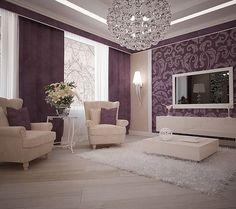 Master Living Room (purple pattern)