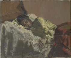 Resting, La Giuseppina by Walter Richard Sickert, 1903 Andrew Wyeth Paintings, Walter Sickert, Camden Town, Impressionist Artists, Italian Painters, Post Impressionism, Figurative Art, Painting Inspiration, Modern Art