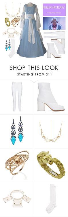 """""""Princess Allura inspired"""" by rylock ❤ liked on Polyvore featuring 10 Crosby Derek Lam, Maison Margiela, Stephen Webster, Anakao, STELLA McCARTNEY and Kate Spade"""