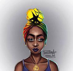 Turbanista - Blog dedicated to the Art of Turban — Ghanaian Pride  by @rokz_ar
