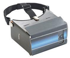 auvisio VR-Brille VRB57.3D mit Magnetschalter
