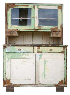 Vintage cabinet from De Vintageloods