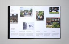 Brand identity and brochure for Hammersmith property development Assembly by Blast, United Kingdom
