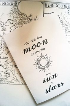 Moon Of My Life My Sun & Stars  Game Of by CuriousOwlFandom, £2.50