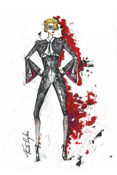 Madonna 'Rebel Heart' tour features costumes created by some of fashion's hottest designers. [Photo: Fausto Puglisi]