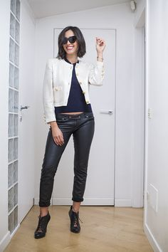 Caterina Balivo wearing a vintage Escada beaded jacket! Wardrobe update! | Caterina Balivo indossa una giacca paillette vintage di Escada! Come fare l'armadio!