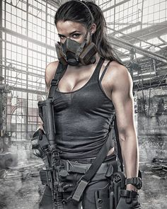 Girl with a Weapon ex girl friend women gun Military girl . Women in the military . Women with guns . Girls with weapons Lauren Young, Mode Steampunk, Female Soldier, Army Soldier, Military Girl, Warrior Girl, Military Women, N Girls, Army Girls