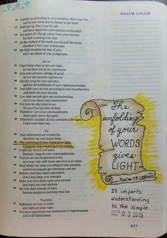 Psalm 119:130 - by Paula-Kay Bourland