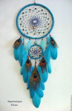"""Les chasseurs faits à la main rêves. Maîtres juste - à la main. Acheter Dreamcatcher """"Venus."""" Handmade. Turquoise, Dreamcatcher"""