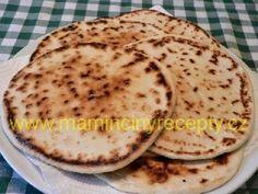 Jednoduchý indický chléb