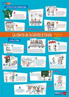 La charte de la laïcité expliquée aux enfants #emi @1jour1actu @weblaligue @MilanJeunesse