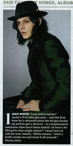Jack White in Rolling Stone