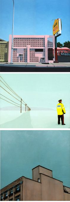 really like these simple paintings by eric cator