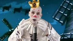 Puddles Pity Party Performs a Sad Clown Style Rendition of Christmas Time Is Here