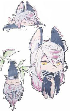 ✞ Diabolik lovers y tú ✞ - Carla Tsukinami (V/D) V Chibi, Cute Chibi, Anime Chibi, Anime Manga, Kawaii Anime, Anime Guys, Anime Art, Diabolik Lovers, Vampires