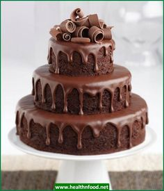 Ultimate Chocolate Cake with Ganache Filling