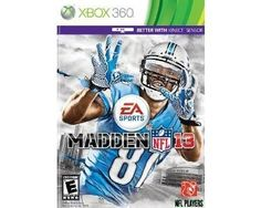 Madden NFL 13 - Xbox 360.  Bid or buy Now for $59.99.