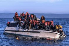 20151030 Syrians and Iraq refugees arrive at Skala Sykamias Lesvos Greece 1 - Proactiva Open Arms - Wikipedia Refugees In Europe, International Waters, Italy History, Syrian Civil War, Le Village, The Sydney Morning Herald, Religion And Politics, Syria, Country