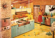 I would cook the heck out of that kitchen. It just looks like a happy place to be in.