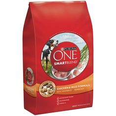 Purina ONE SmartBlend Chicken & Rice Formula Adult Premium Dog Food 31.1 lb. Bag