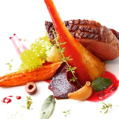 Duck breast  #foodstyling #Romania #Chef #Bogdan Alexandrescu #Dexter #Romania #food #photo Most Delicious Recipe, Food Pictures, Carrots, Food Photography, Yummy Food, Dexter, Vegetables, Cooking, Recipes