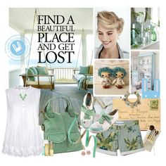Find a Beautful Place with Le Bunny Bleu by kimberlygiacomo on Polyvore