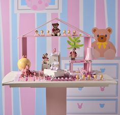 Wouldn't you love to welcome your baby girl with the new Baby Bedroom theme from Patchi?