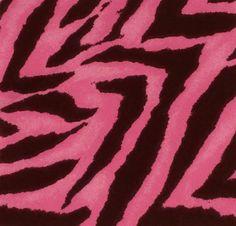 "Hot Pink Zebra Stripes on Black Fabric Five - 6"" Cotton Fabric Block Quilt Charm 5 Pieces Hot Pink Zebra Stripes on Black # 301-190 by AlwaysInStitchesCo on Etsy"