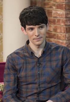 Colin Morgan on This Morning May Merlin Show, Merlin Cast, Pretty Men, Gorgeous Men, Merlin Season 6, Simon Amstell, Sherlock Doctor Who, Merlin Colin Morgan, Merlin And Arthur