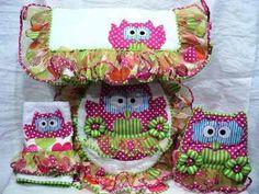 Patrones De Juego De Baño Bathroom Sets, Bathrooms, Applique Quilts, Quilting Projects, Baby Quilts, Christmas Stockings, To My Daughter, Diy Crafts, Sewing