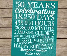 Birthday Gift Print Custom Personalized Love Story Life Poster Family Marriage Subway Art 30th 40th 50th 60th 70th 75th 80th 90th Birthday