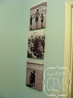 I have some pictures that would fit into the beach theme for the bathroom!