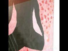 """Obra de Arte """"Amor"""" 195x145cm. Caneta esferográfica em folha sulfite"""