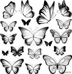 tattoo schmetterlinge vorlagen schöne designs                                                                                                                                                      Mehr