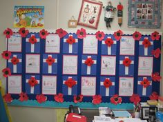 """Remembrance Day craft and """"Somewhere today someone is"""" writing activity - interested in the writing activity but no words to go along with it. Will investigate! Remembrance Day Activities, Remembrance Day Art, School Holidays, School Days, School Stuff, Writing Activities, Writing Ideas, May Themes, Teaching Tips"""