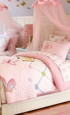 Lindsay Quilted Butterfly Bedding #girls #rooms