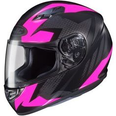 hot pink or baby blue motorcycle helmets for women full face - Google Search