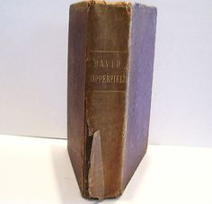 1914 David Copperfield by Charles Dickens Hardcover Small Etchings
