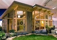 Seattle-based FabCab offers this 550 sq. ft timberframe home kit--an ideal in-law apartment you place in your own backyard. Features an open floor plan, universal design features, 1 bedroom, 1 bath. Priced at $325+ per sq. ft.