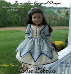 Patron PDF pour poupée American Girl / historique par Farmcookies
