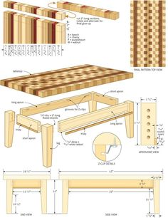 [Free Plans] Build A Gorgeous Coffee Table Easily With These Complete Plans